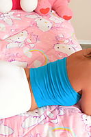 Busty Teen With Big Ass In A Boobtube - Picture 7