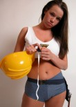 Stephanie In Construction Uniform - Picture 2