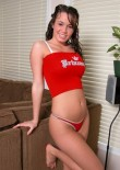 Plump Teen In A Tight Red Thong - Picture 2